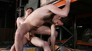 Filthy Warehouse Fuckers! - Riley Tess And Jonny Parker