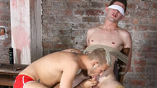 Tied To A Chair And Made To Cum! - Ross Drake And Deacon Hunter