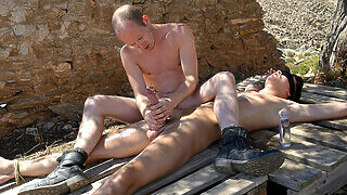 Tied Down For A Frotting Wank! - Charley Cole & Sean Taylor