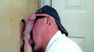 Redhead Gets A Gloryhole Suck Off