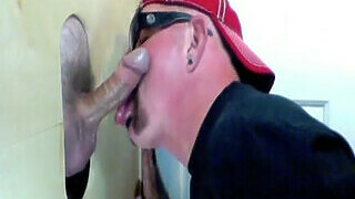 Soccer Daddy Cums At The Gloryhole