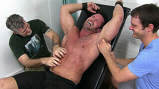 Muscleman Joey Destroyed By Tickling - Joey